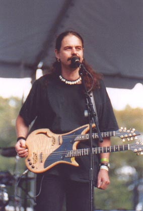 Lief playing the Blond at the Chicago Celtic Festival, 1999