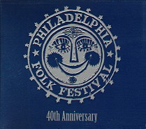 Philadelphia Folk Festival 40th Anniversary Cover